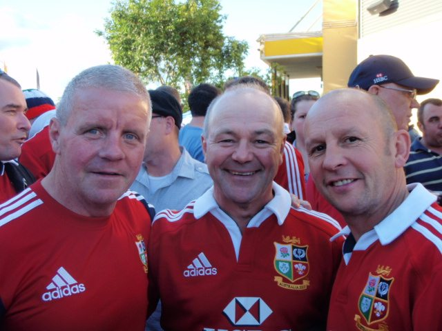 British & Irish Lions supporters in Sydney 2013