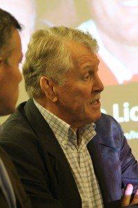 Lions tour legend Graham Price at 2017 launch