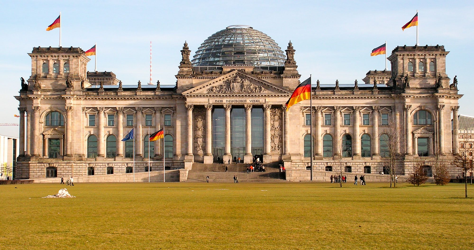 Germany's historic Reichstag building is a must-see for teams on a sports tour in Germany
