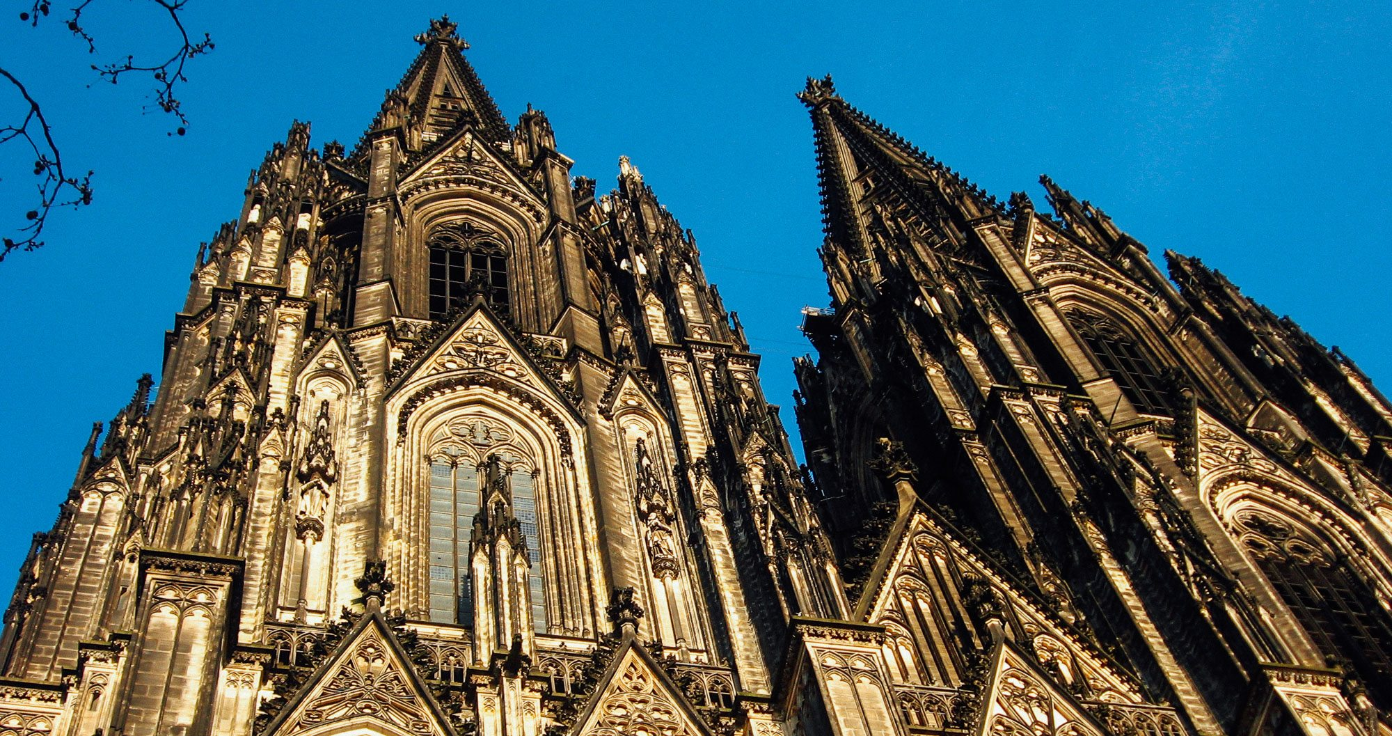 Cologne's magnificent cathedral is a must-see for those on a sports tour to Germany