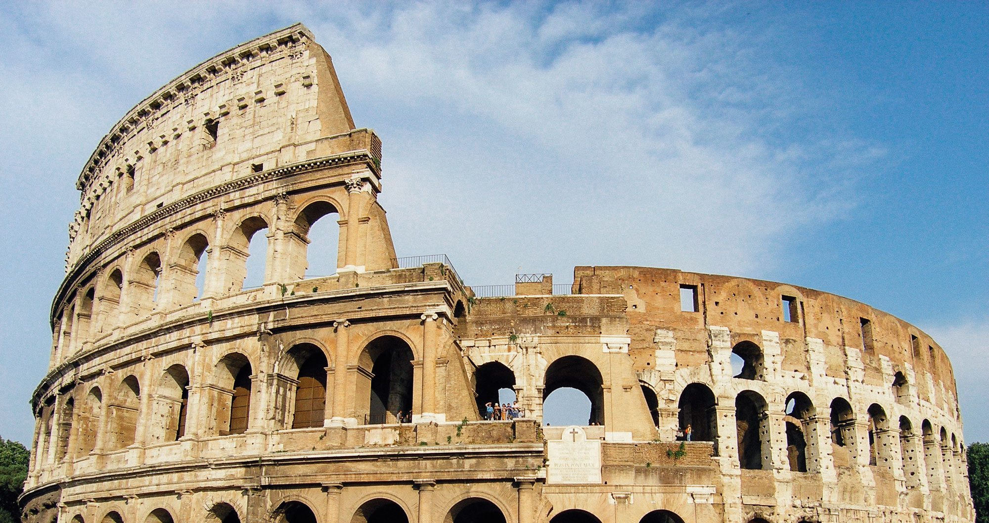 The Colosseum in Rome. Breathtaking, and must be seen by all who embark on a sports tour to Rome
