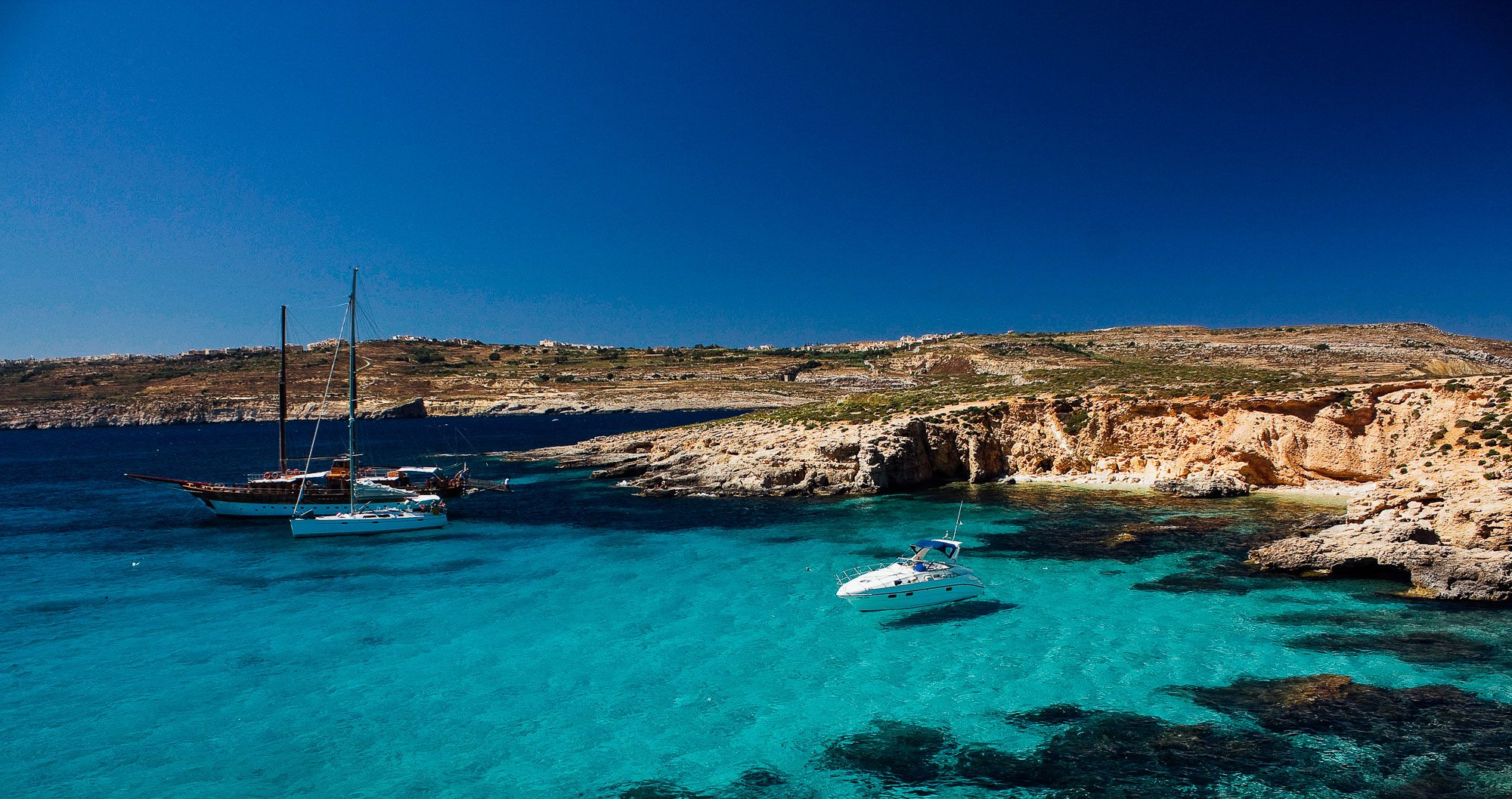 Malta's Comino Blue Lagoon needs to be seen to be truly appreciated by those on a sports tour