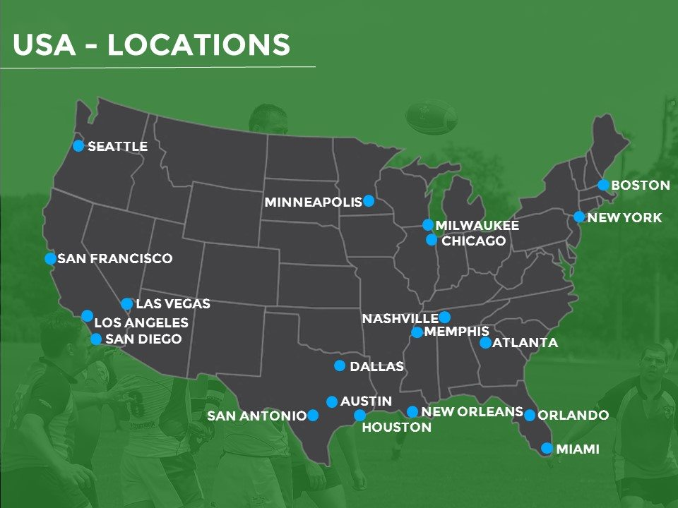 rugby tours to America - school and club groups