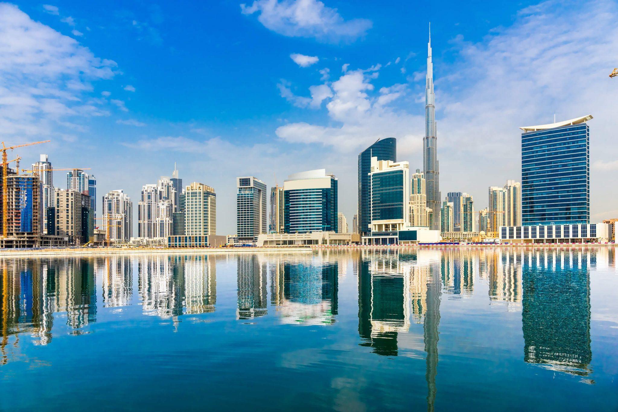 Dubai Skyline Burg Khalifa