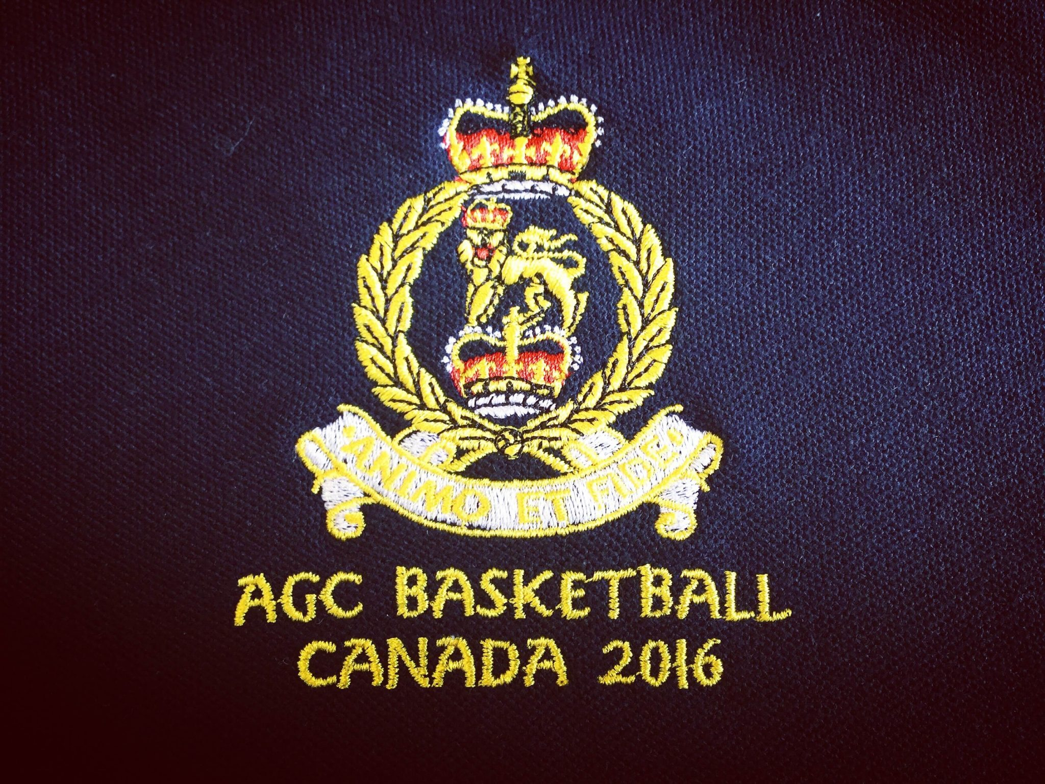 AGC Basketball Cap Badge