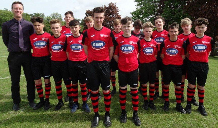 Chepstow School U14 football team