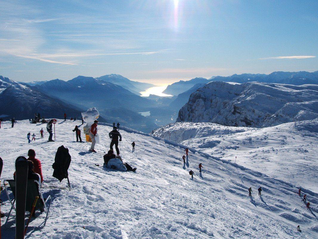 school ski trips to Andalo, Italy