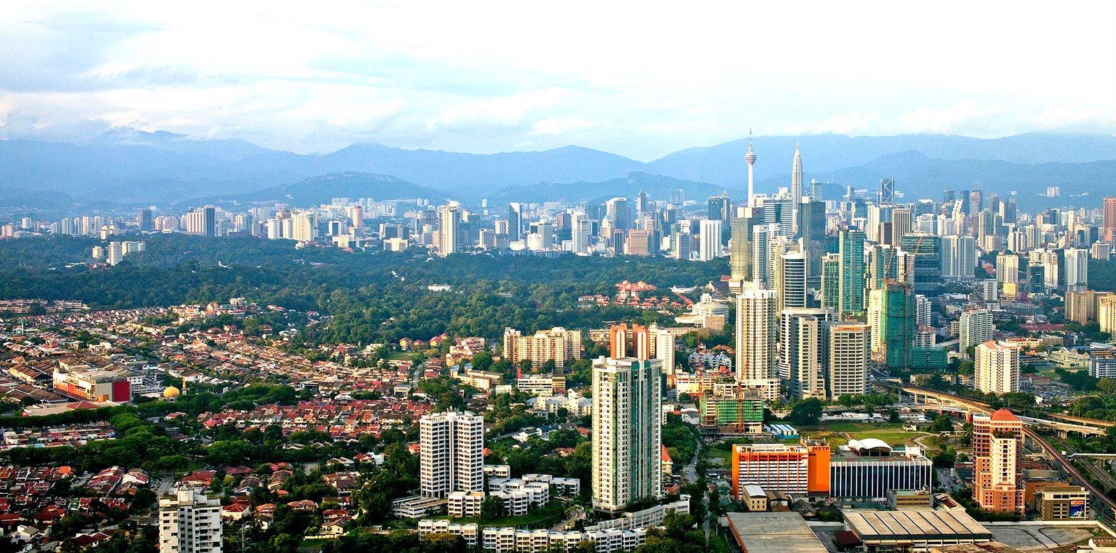 Sports tour to Malaysia - Kuala Lumpur city centre