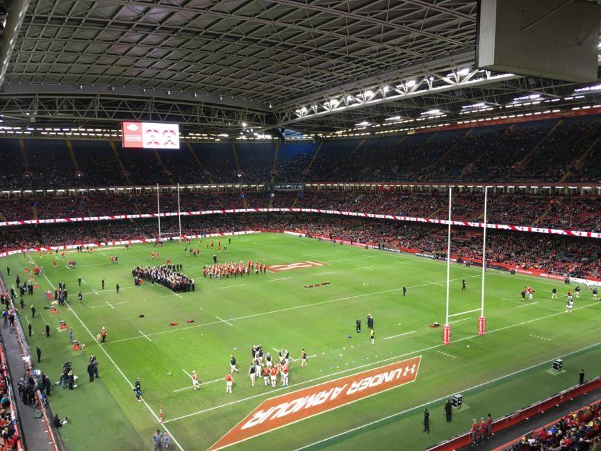 MSG Sporting Saturday, Rugby, Wales vs Georgia, Principality Stadium
