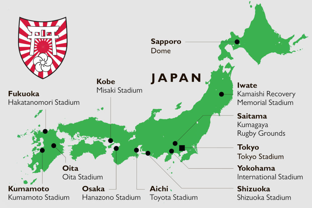 Follow your Team Ireland, Tour Japan 2019, MSG Tours