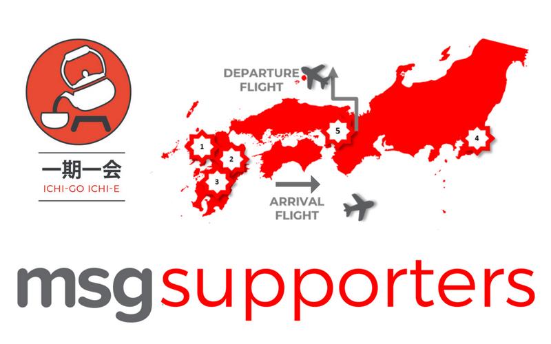 Ichi-Go-Ichi-E, Follow Wales, Tour Japan 2019, MSG Tours