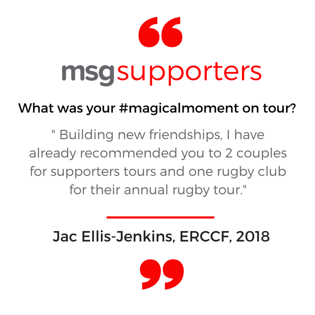 Jac Ellis Jenkins ERCCF 2018 msg supporters