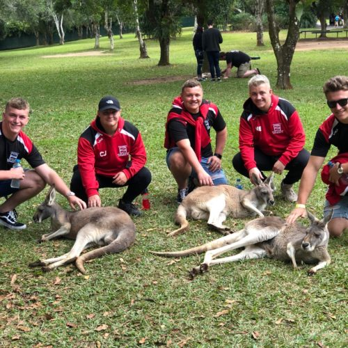 Coleg Gwent on rugby tour to Australia