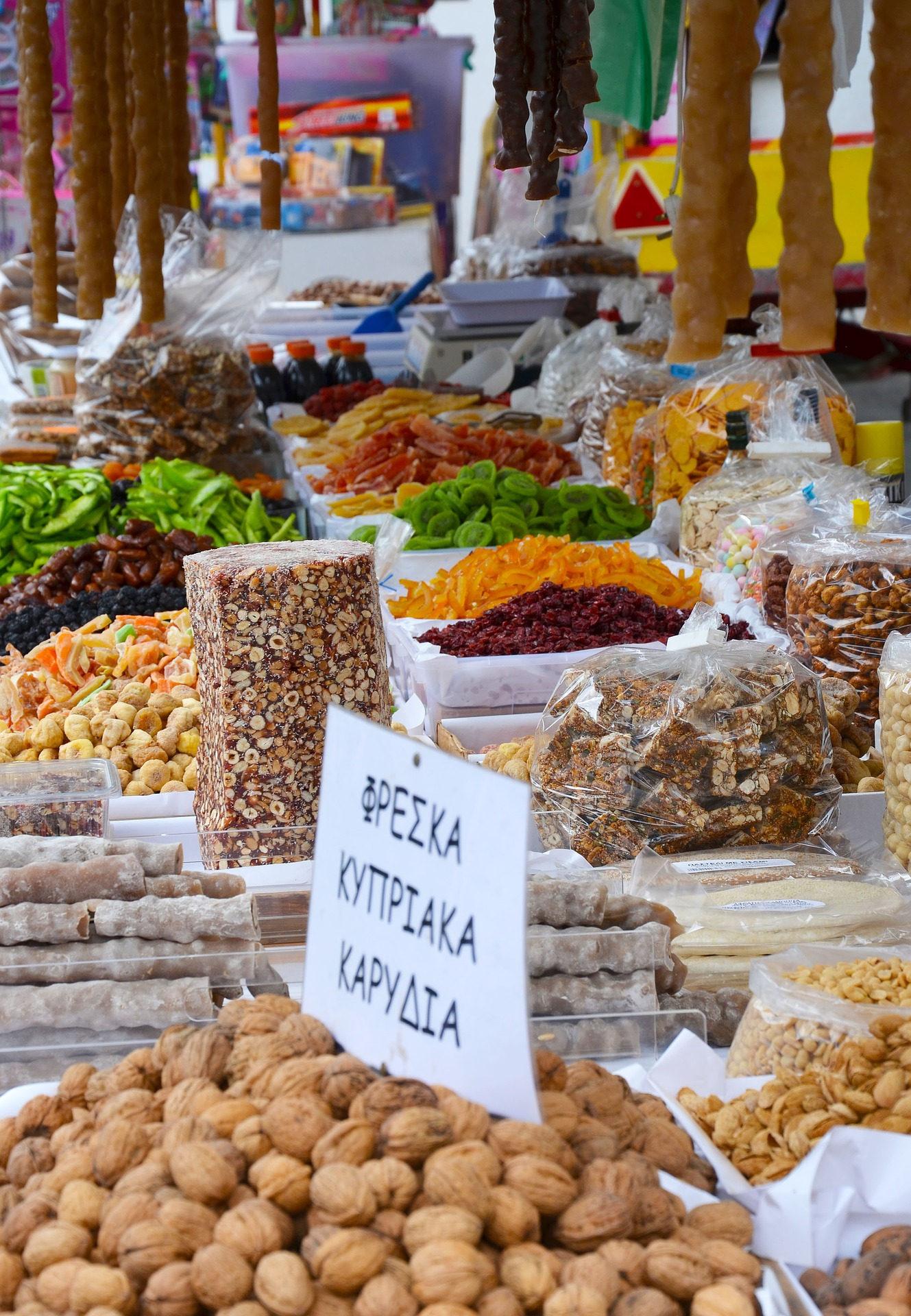 Food technology trip to Cyprus- Food markets