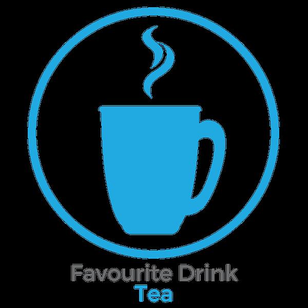 Favourtie drink tea