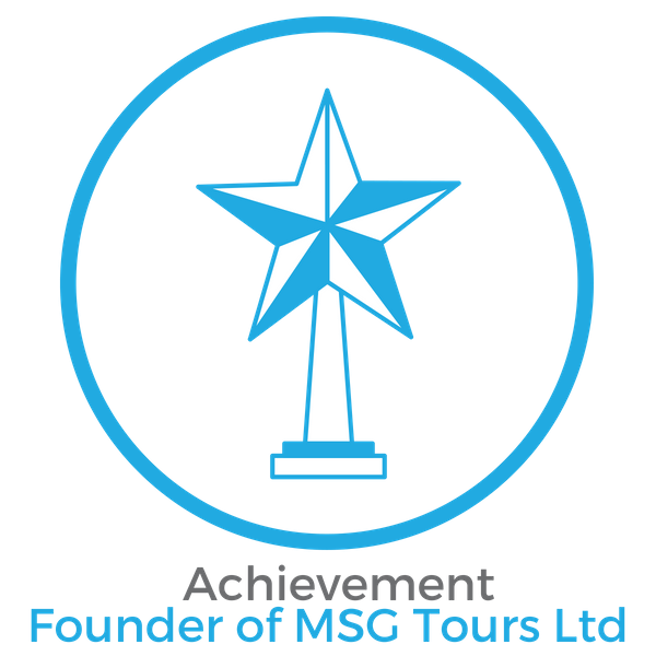 Mark Achievement Founder of MSG Tours Ltd