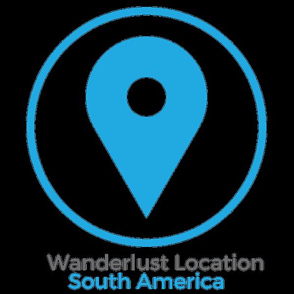 Wanderlust Location South America