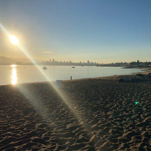 HI Jericho beach sky line