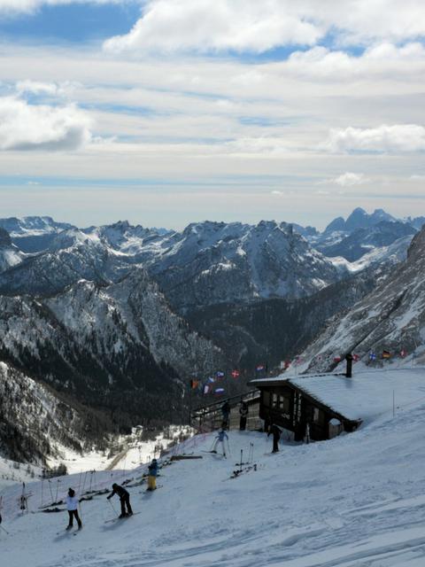 San Martino di Castrozza, Italy ski resort