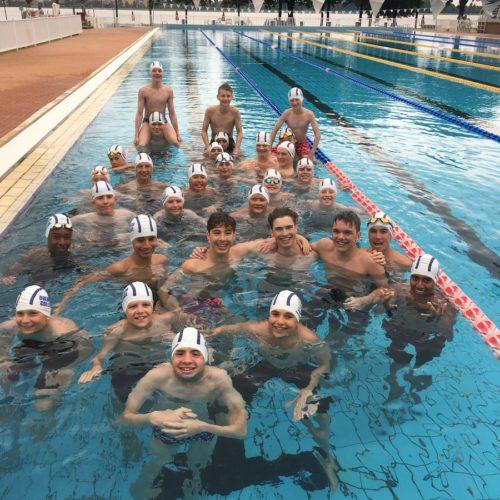 swimming tour to italy