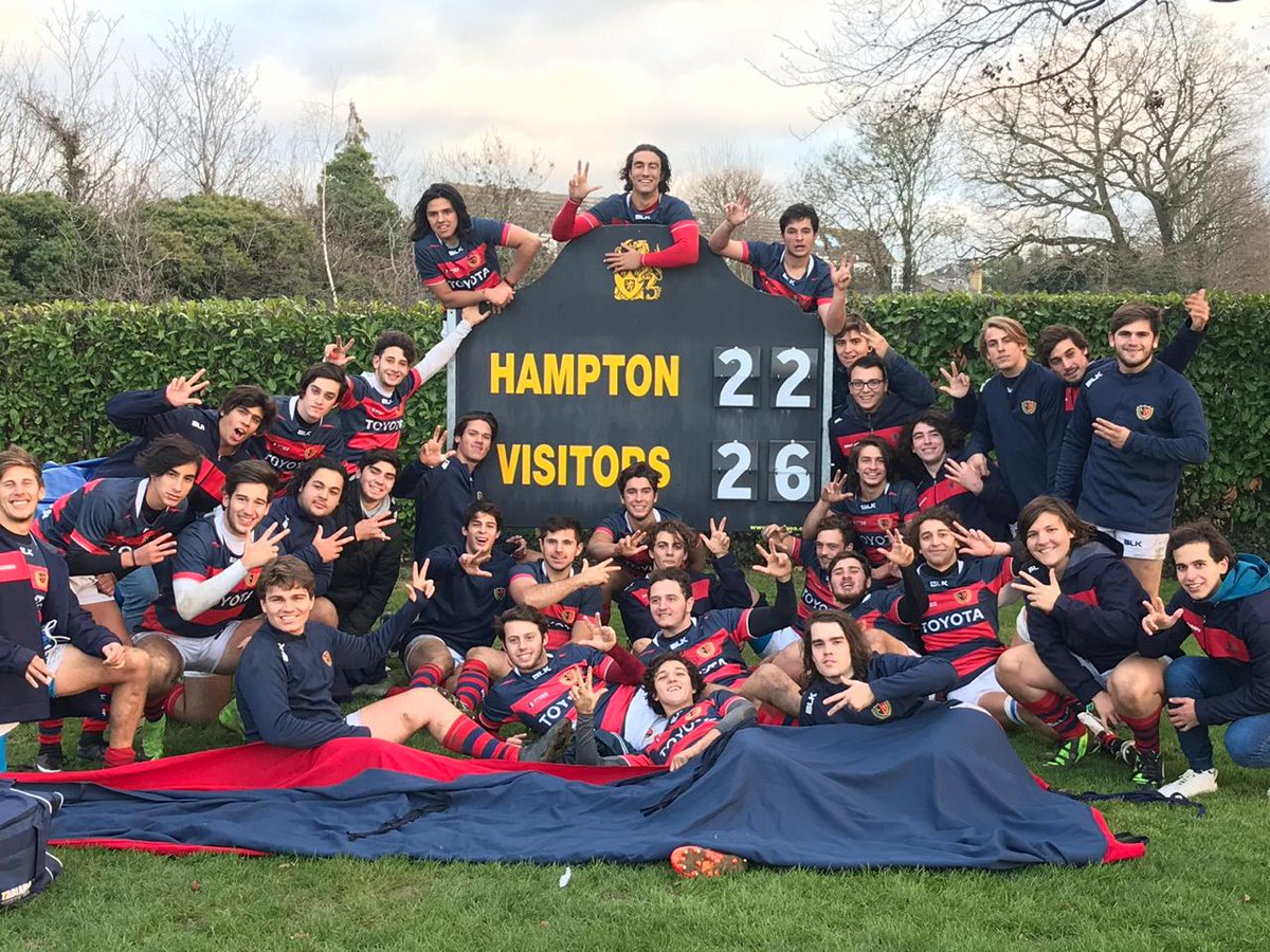 La Tablada rugby game results at Hampton School