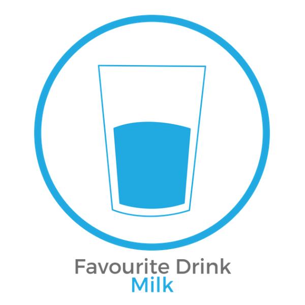 Favourite Drink Milk.