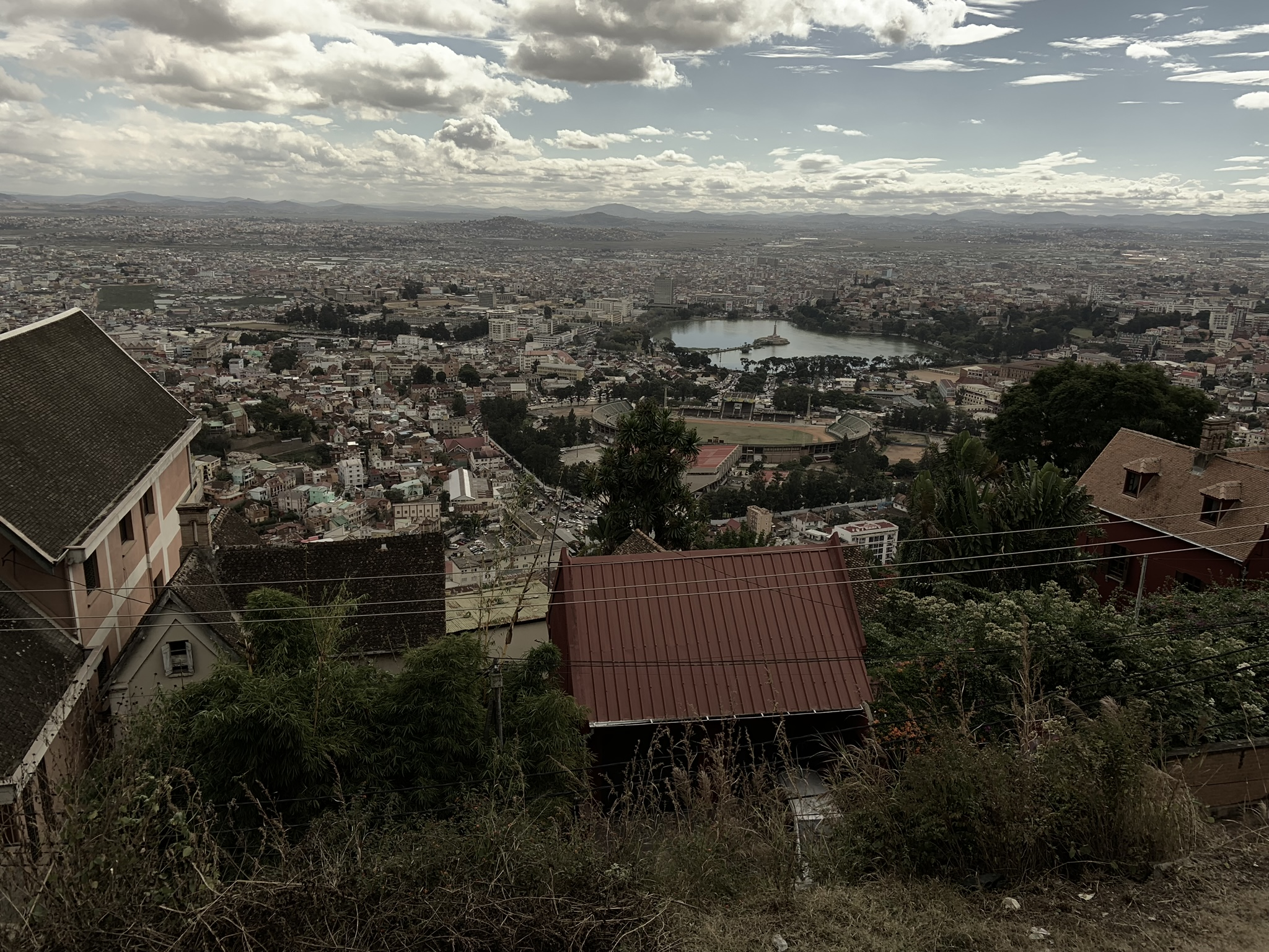 Lake Anosy and Mahamasina Stadium