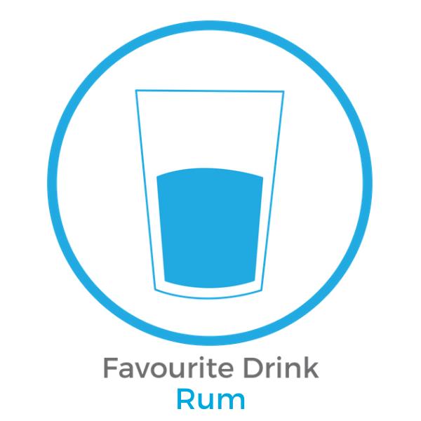 Favourtite drink Rum