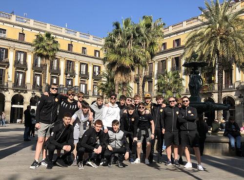 merchants taylors football tour to Barcelona