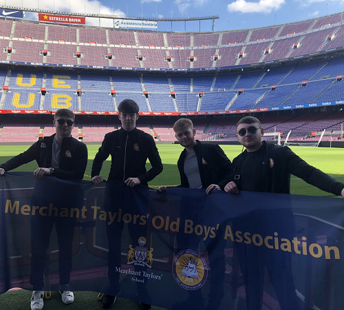 Football tour to Barcelona