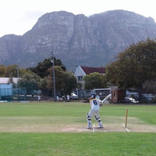 Dragon School playing cricket in south africa