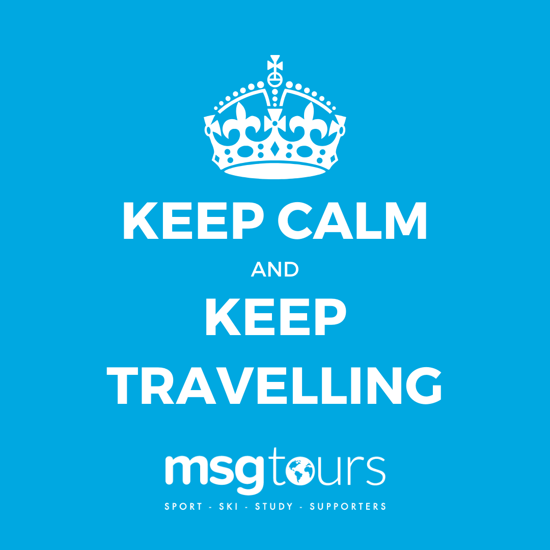 Coronavirus: Keep calm and keep on travelling