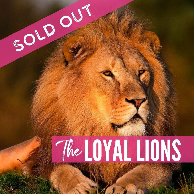 The Loyal Lions 2021 Supporters Packages