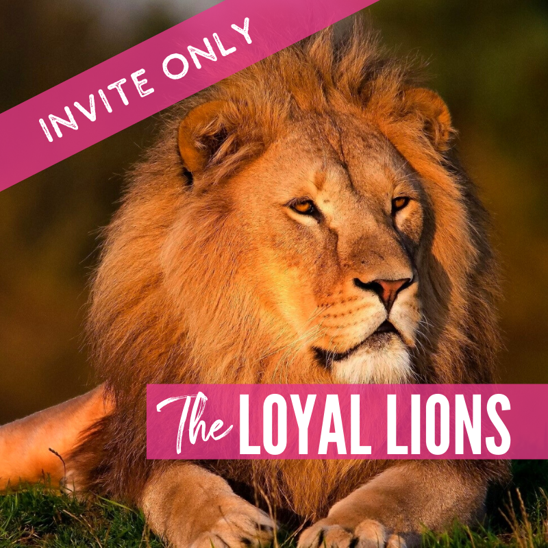 The Loyal Lions 2021 Lions package