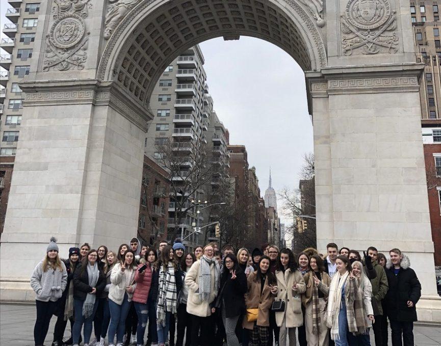 Tonyrefail media trip to new york