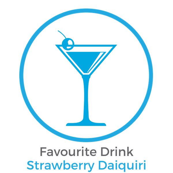 Favourite Drink Strawberry Daiquiri