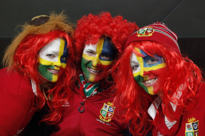 British Lions Supporters Tour. Fans in New Zealand 2017