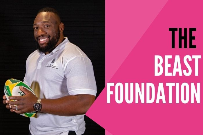 endai Mtawarira The Beast Foundation Lions 2021 Supporters Tour South Africa