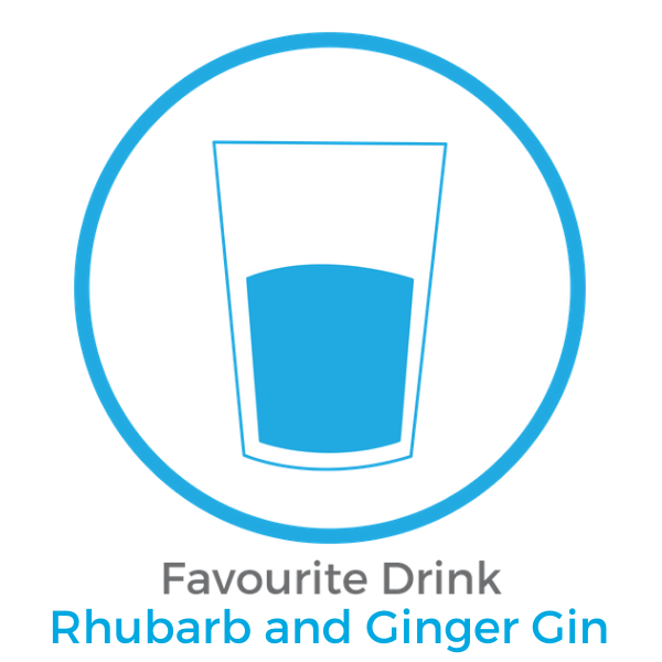 Favourite Drink   Rhubard and Ginger Gin