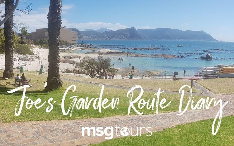 Joe's Garden Route Diary