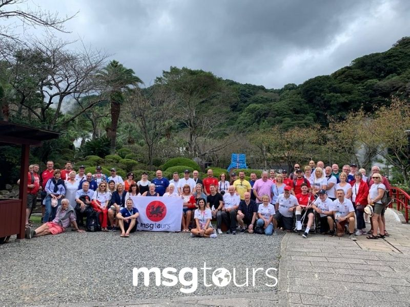 MSG Supporters at RWC Japan