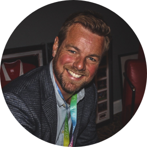 Ross Harries Head of Events and Media