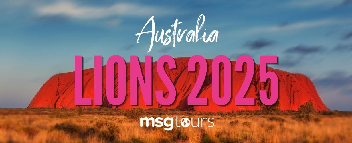 Lions Tour 2025 Australia