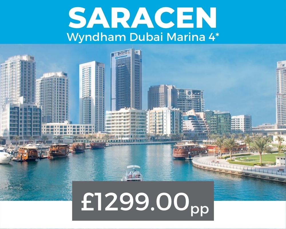 Dubai 7s 2021 Saracen package