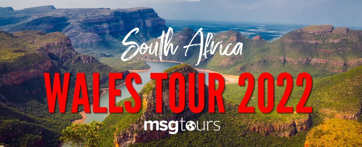Wales Summer Tour 2022 South Africa