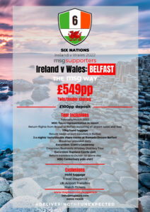 Ireland vs Wales 2022 Six Nations
