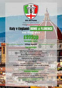 Italy vs England 2022 Six Nations