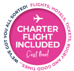 Charter flight included 2023
