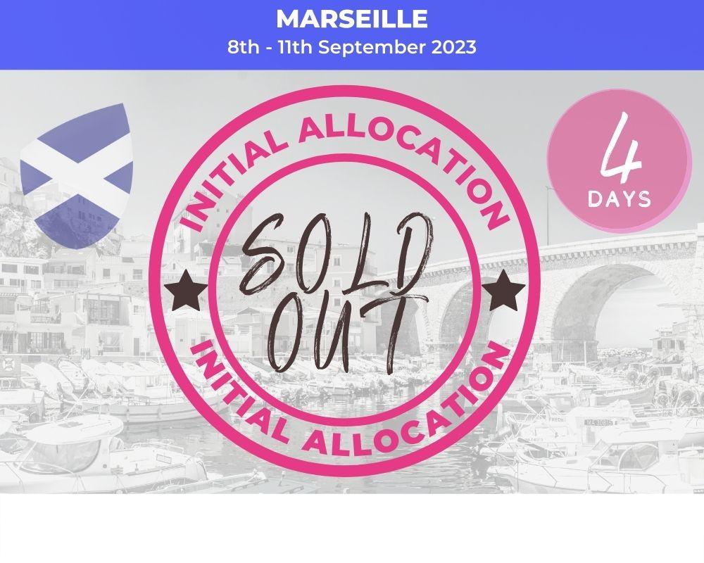 Long Weekender Marseille - Scotland RWC 2023