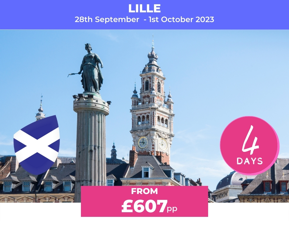 Long Weekender Scotland- Lille RWC 2023
